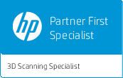 HP Partner First Specialist 3D-scanners / 3D-scannen