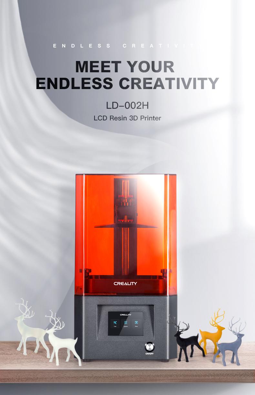 Creality LD-002H LCD Resin 3D Printer