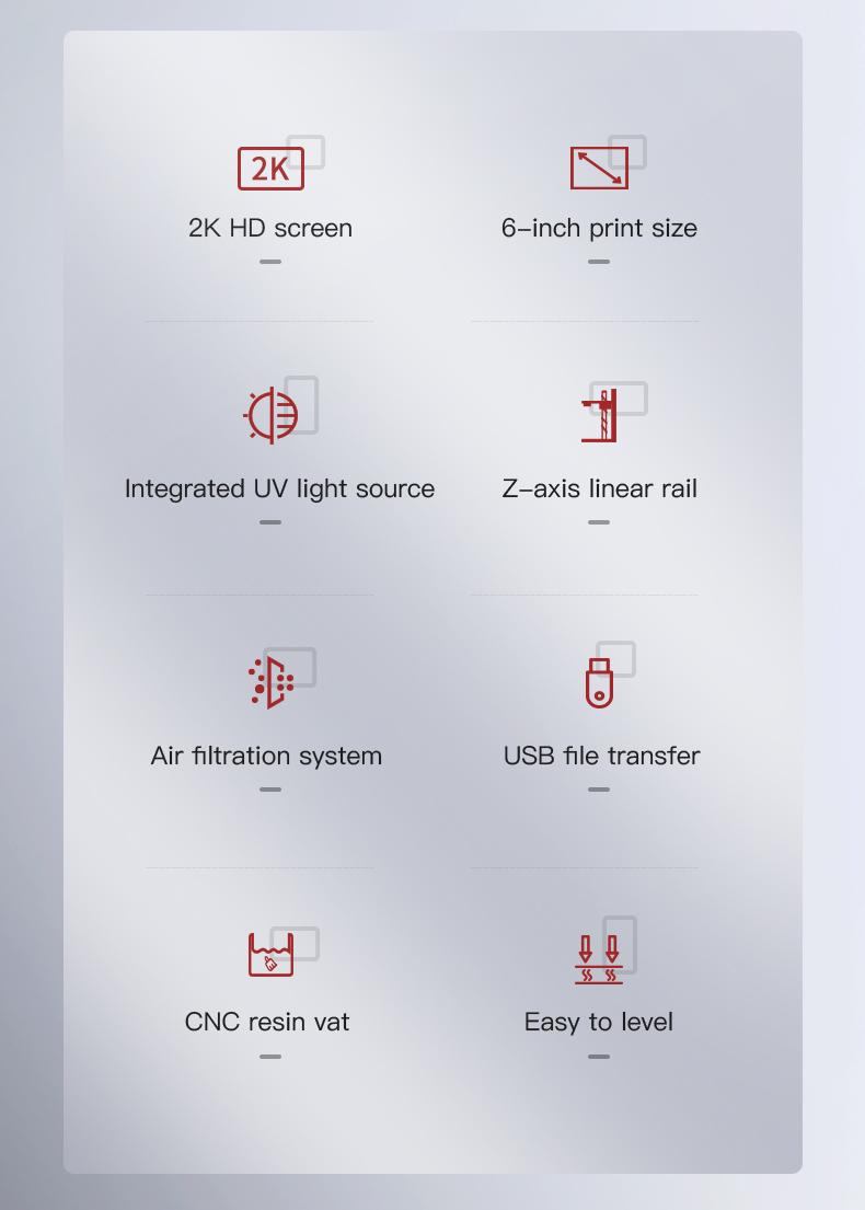Creality LD-002H eigenschappen