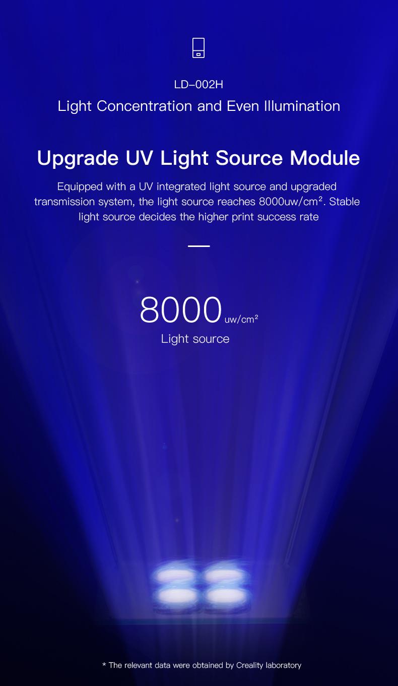 Creality LD-002H verbeterde UV lichtbron