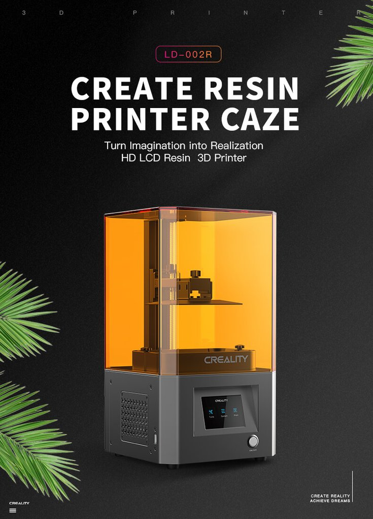 LD-002R Create Resin Printer Caze