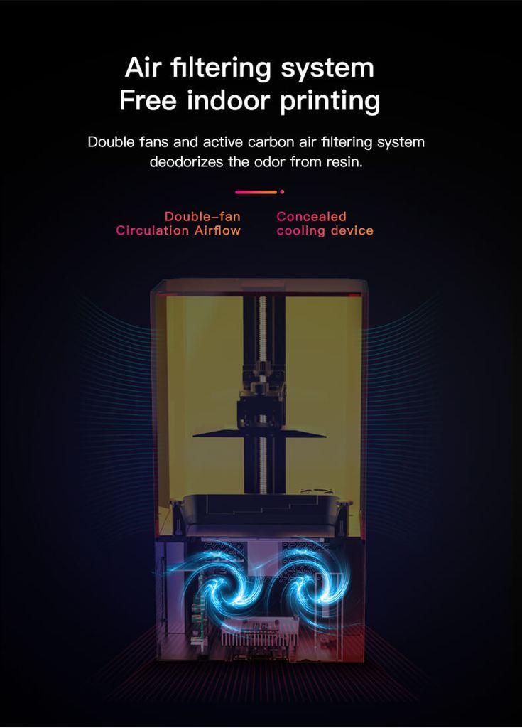 Actieve koolstof filtering Creality LD-002R