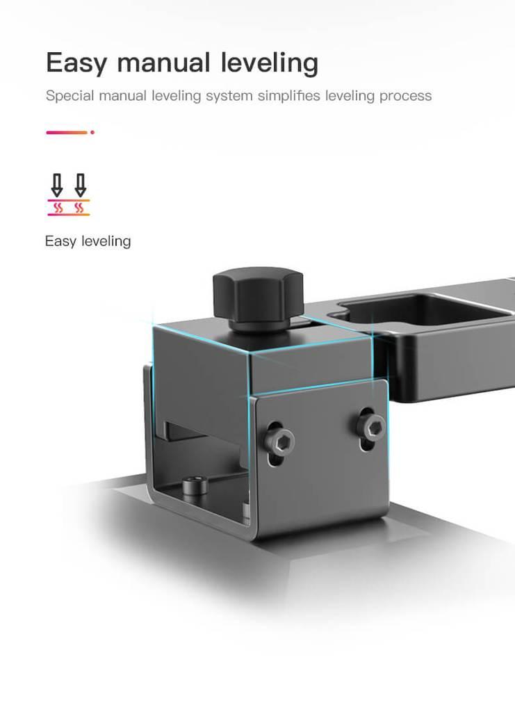 Eenvoudige bed-levelling Creality LD-002R