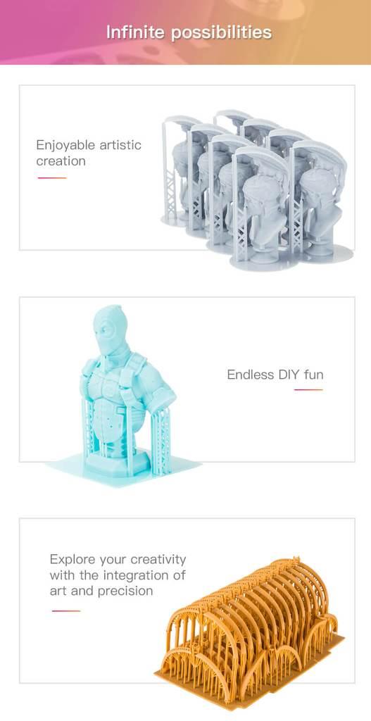 Veel mogelijkheden DLP 3D-printer Creality LD-002R