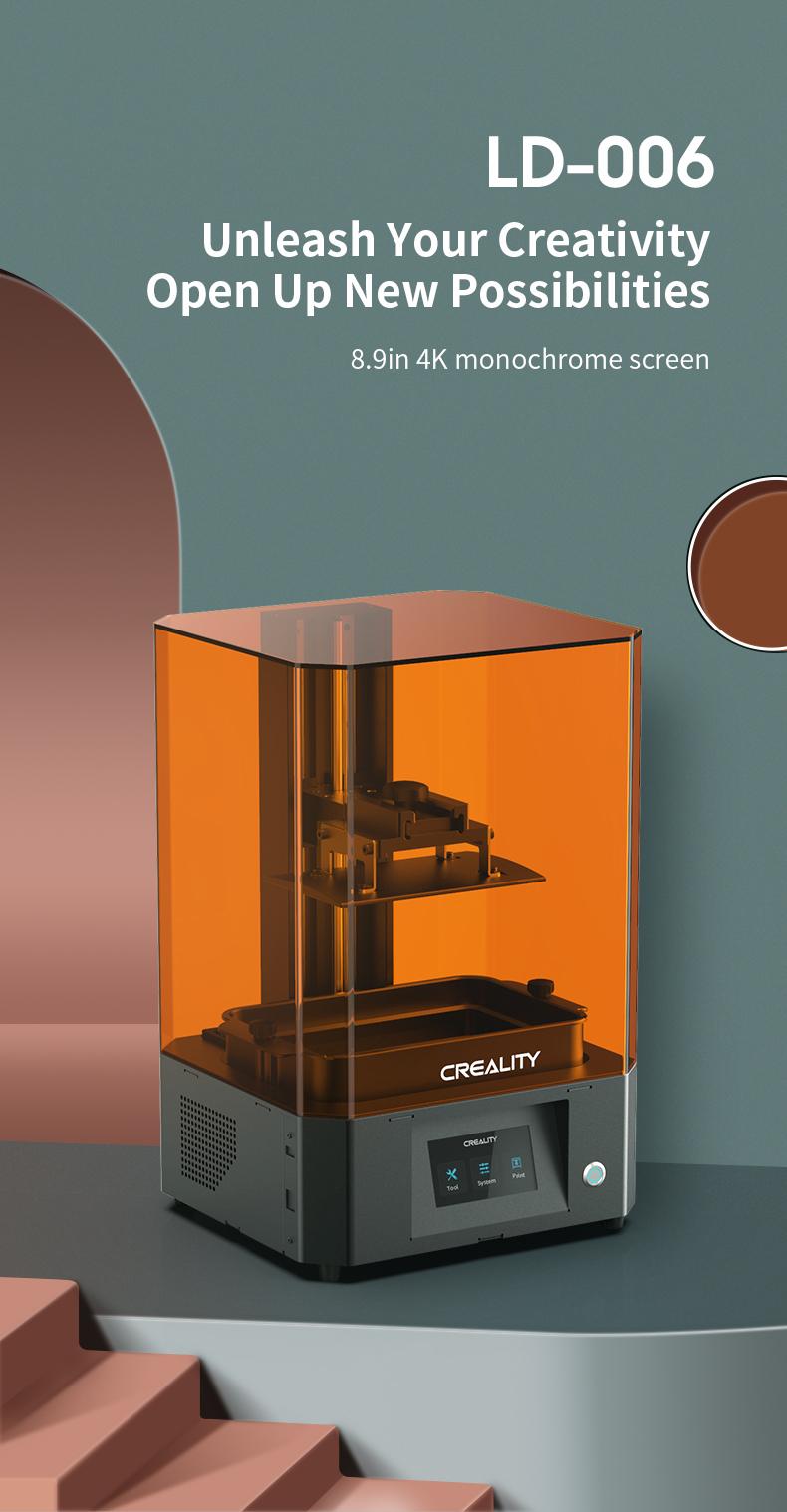 Creality LD-006 laat uw creativiteit de vrije loop en open nieuwe mogelijkheden.