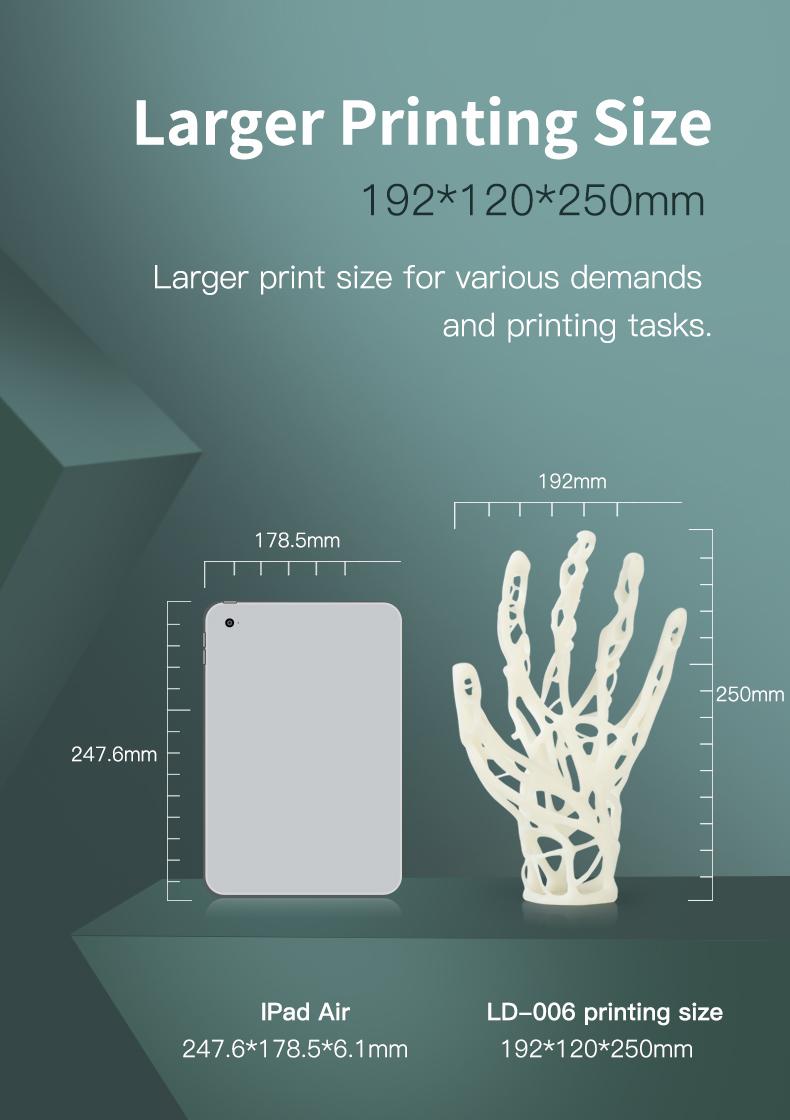 Creality LD-006 Groot afdrukformaat-192x120x250mm
