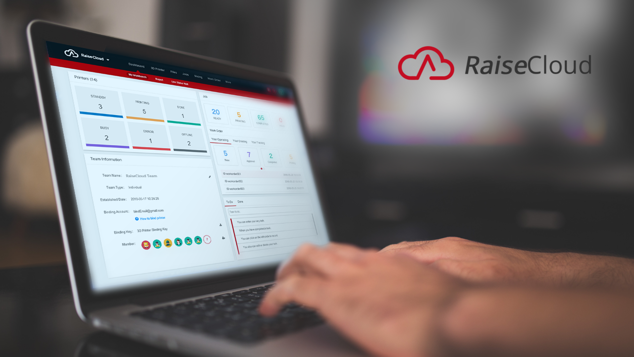 Raise3D Cloud Management Software - Finding New Paths For Flexible Manufacturing