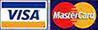 Bij Bits2Atoms kunt u ook met uw Visa of MasterCard betalen.