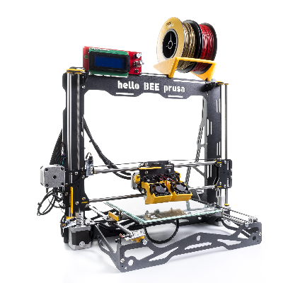 helloBEEprusa 3d printer zelfbouw prusa Bits2Atoms