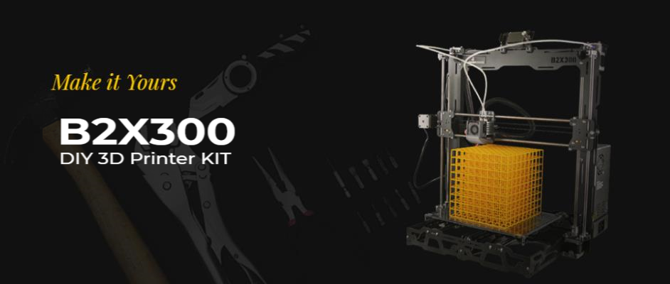 BEEVERYCREATIVE B2X300 DIY 3D Printer Kit