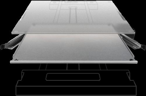 XYZprinting da Vinci Junior Pro X+ verwarmd en uitneembaar printbed