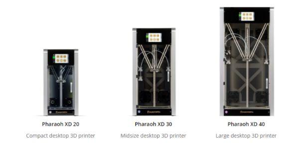 Mass Portal Pharaoh serie voor High Definition 3D-printen | Bits2Atoms @ Work