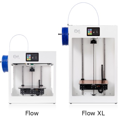 CraftBot Flow en CraftBot Flow XL
