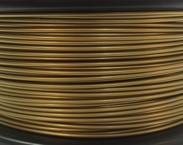 Bits2Atoms bronze gold PLA filament 1,75 mm