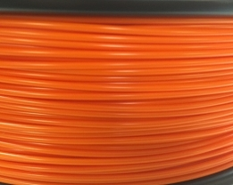 Bits2Atoms orange PLA filament 2,85 mm