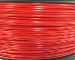 Bits2Atoms red PLA filament 2,85 mm