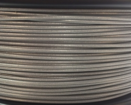 Bits2Atoms PET-G silver filament in 1,75mm