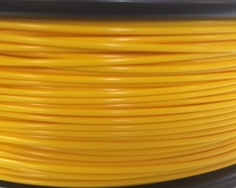 Bits2Atoms yellow PLA filament 1,75 mm - 300 g