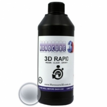 Monocure 3D Rapid Resin 500 ml Helder