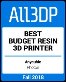 Anycubic Photon: Best Budget Resin 3D Printer