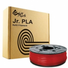 XYZ Printing Junior Mini Nano PLA Filament Rood Transparant 1,75 mm / 600 gram