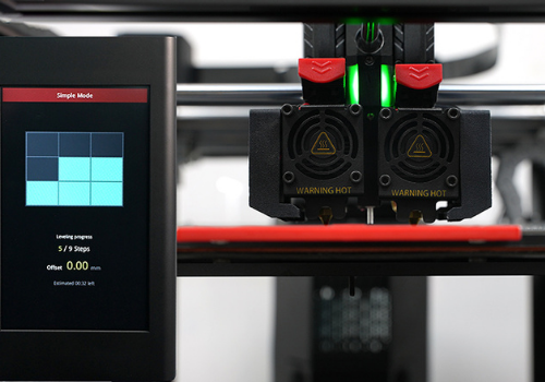 Raise3D Pro3 Series automatische bed levelling