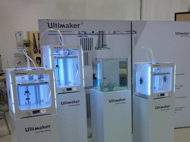 Ultimaker 3: professioneel 3D-printen, dual extrusie - Bits2Atoms
