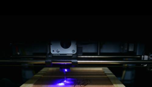 XYZprinting da Vinci 1.0 PRO met laser graveer module